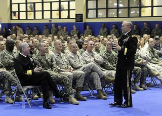 Gen. Dempsey speaks in Bahrain.