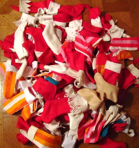 Chaussettes Noël cacahouète
