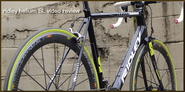 Ridley Helium Sl Review