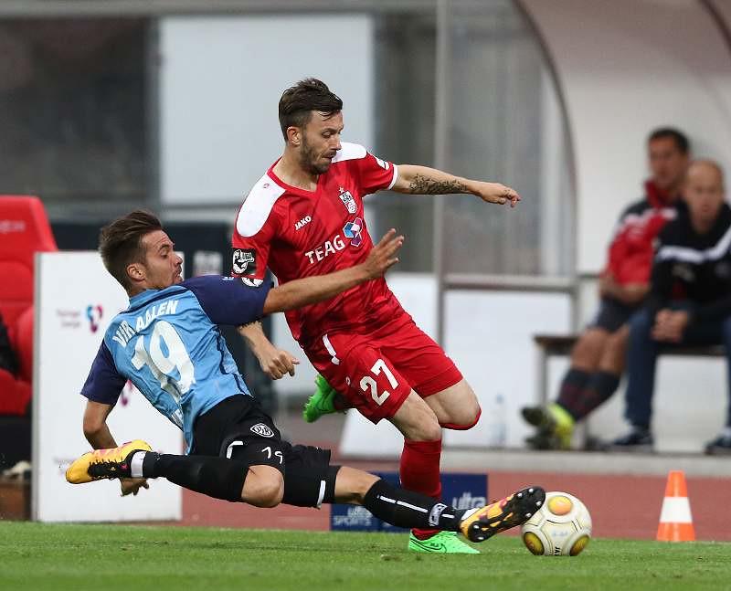 09.08.2016   FC Rot-Weiß Erfurt vs. VfR Aalen 0-0 , Foto: Frank Steinhorst - Pressefoto