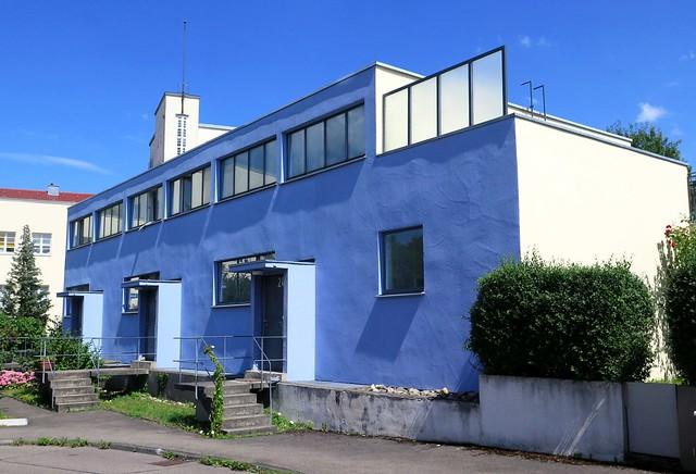 Collective house by Max Stam (1899-1986 - NL) in the Weissenhof estate in Stuttgart