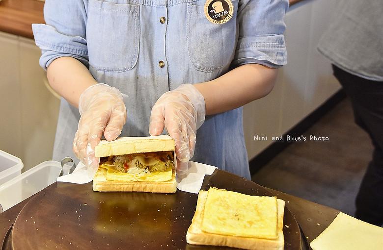 台中肉蛋土司韓國吐司工寓07