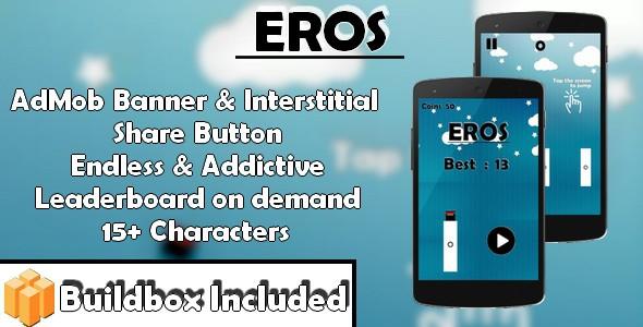 Eros – iOS xCode & Buildbox Game Template