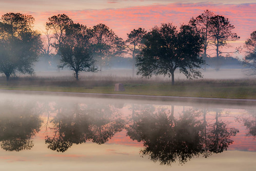 mist monument water pool fog sunrise dawn san day texas houston historic 20 jacinto battleground sanjacintomonument top20texas bestoftexas yahooweatherproject