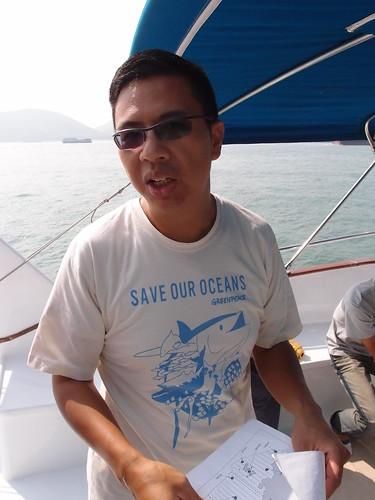 香港海豚保育學會會長洪家耀,從學術研究投入保育工作