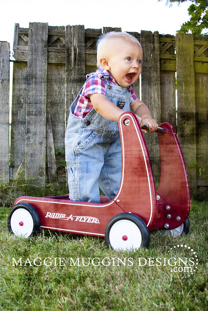 Ready to Roll Radio Flyer Baby Photo