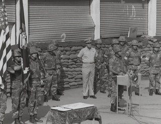 24th Marine Amphibious Unit Birthday Celebration, Beirut, Lebanon, 1983