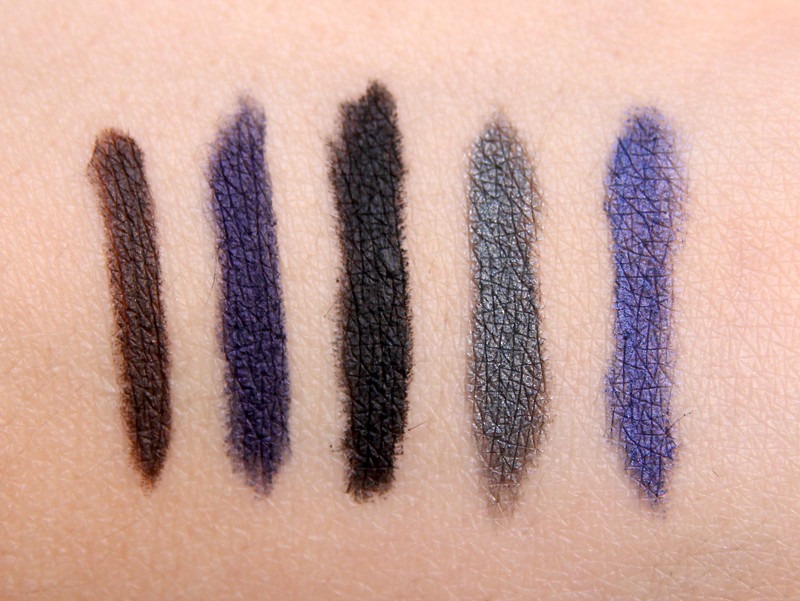 Maybelline master smoky shadow-pencils swatch