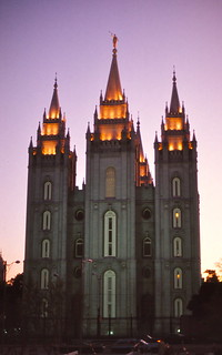 Utah   -   SLC   -   Salt Lake Temple   -   June 1975