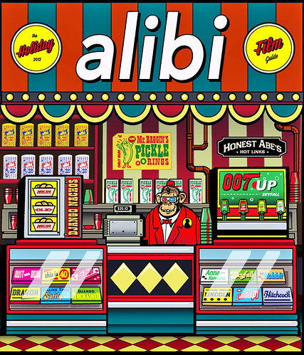 Alibi Holiday Film Guide 2012 by 1SHTAR