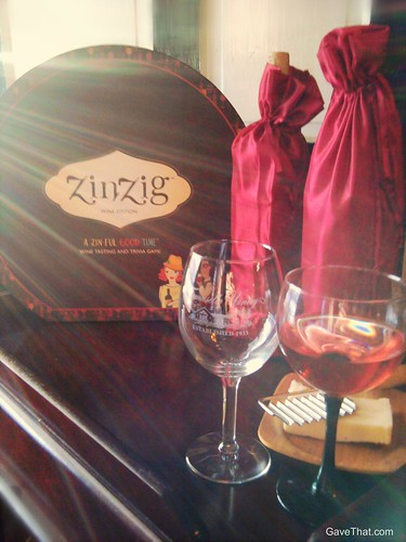 ZinZig Wine Tasting Game Gift Idea