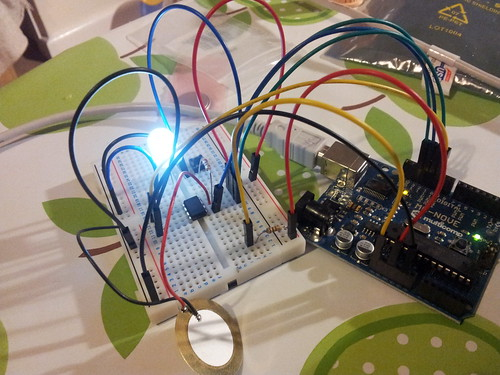 Programming Attiny85 using Arduino