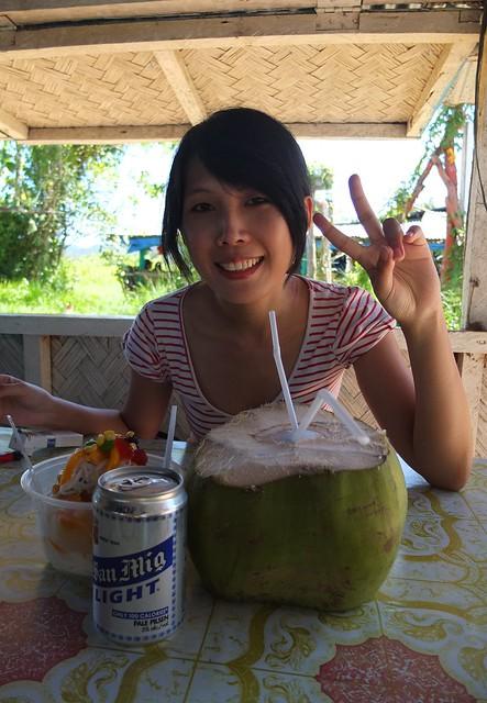 啤酒, 剉冰, 椰子汁.....日子能再更舒爽嗎?
