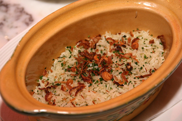 Wonderful Tarragon Rice Pilaf