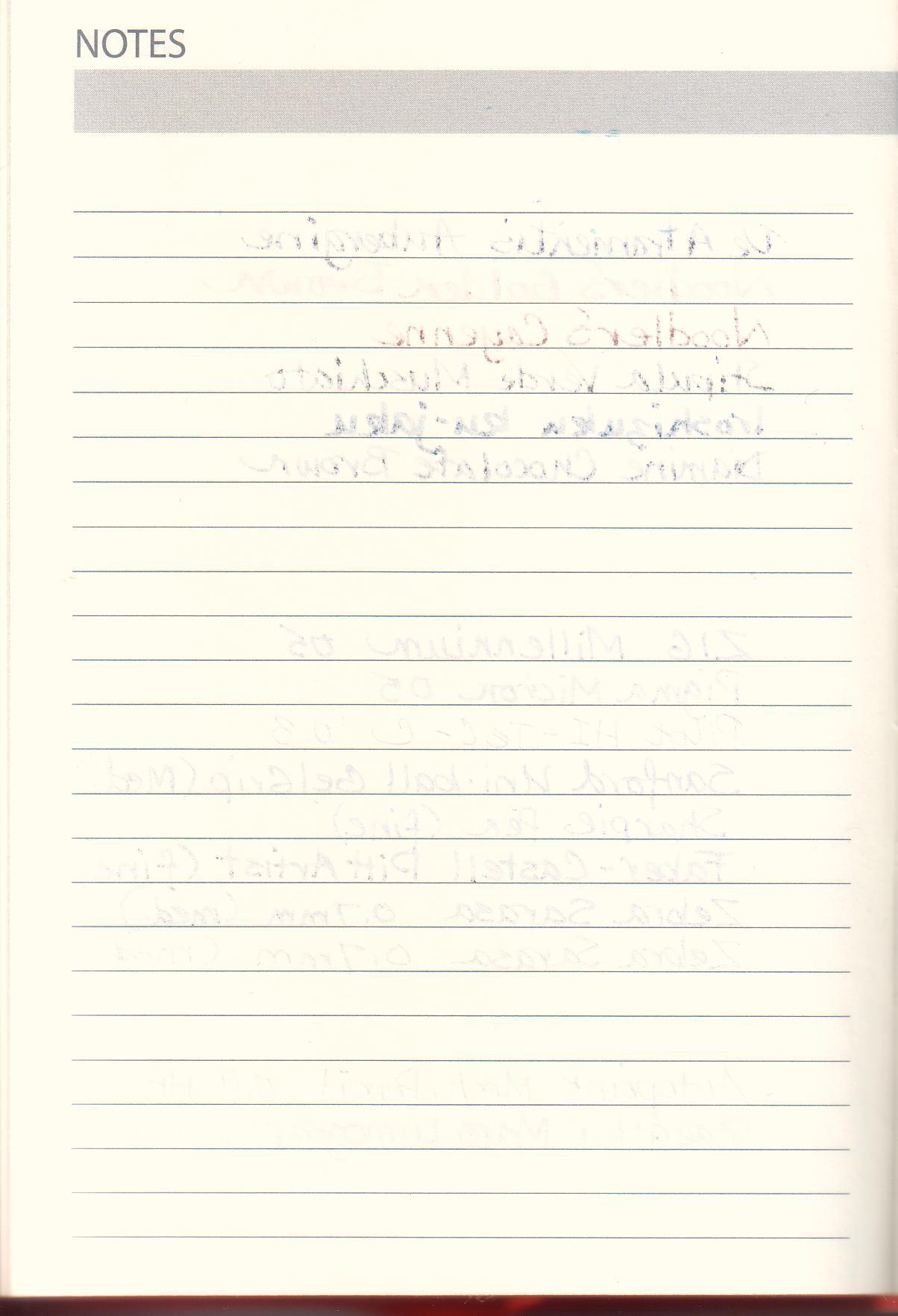 Daycraft Signature 2013 Diary – Diary Paper Printable