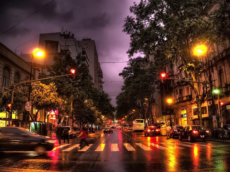 Lluvia urbana - Urban rain