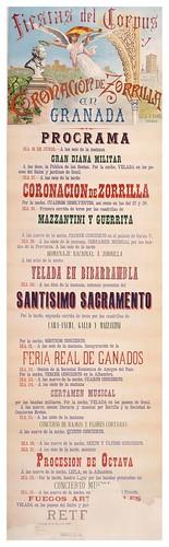012-Fiestas del Corpus y coronacion de Zorrilla-1889-Copyright Biblioteca Nacional de España