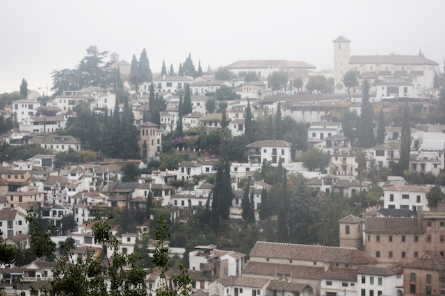 Granada view from Alcazaba