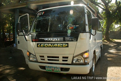 Leonard Transport Service Van at Quezon, Palawan