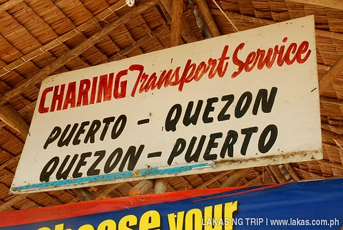 Charing Transport Service in Quezon, Palawan