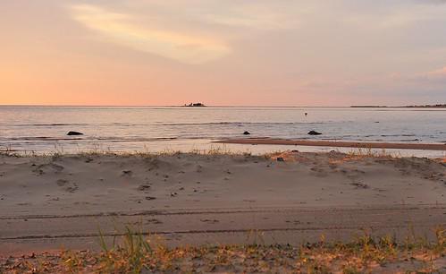sunset holiday seascape suomi finland geotagged nikon gps nikkor gp1 kalajoki østersjøen bottenviken kalajoen rivierabothniasea