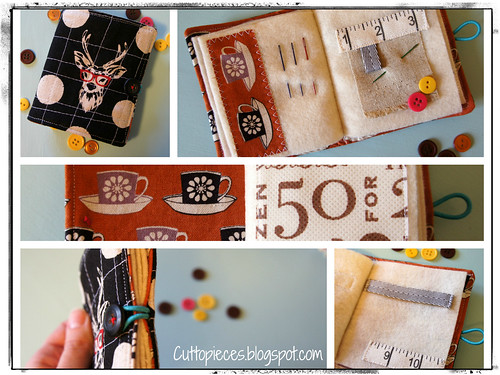 Needle Book Collage