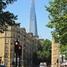The Shard viewed from Jamaica Road