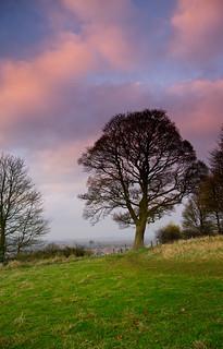 Sunset near Grantham