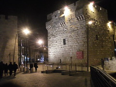 The Jaffa Gate, Jerusalem.
