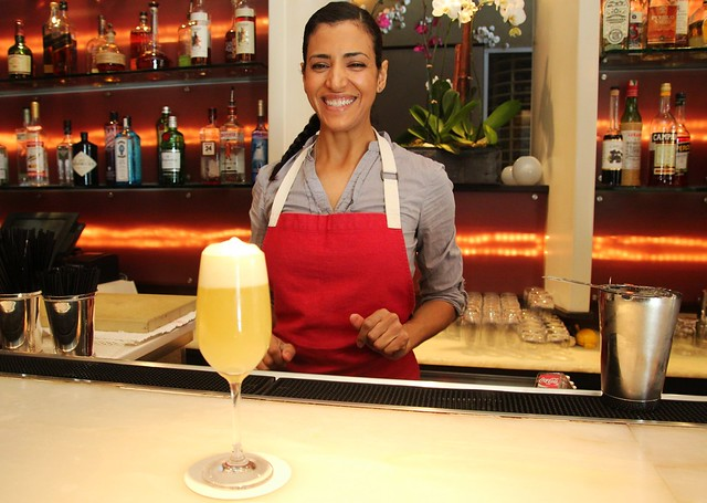 LA bartender Zahra Bates by Caroline on Crack