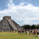 El Castillo at Chichen Itza - Yucatan, Mexico