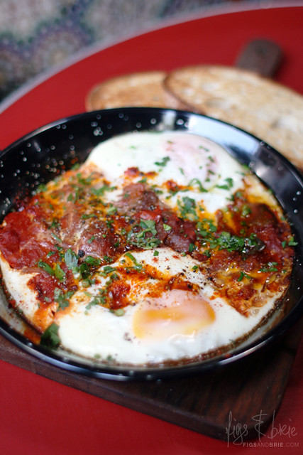 Spanish Baked Eggs, The Carrington