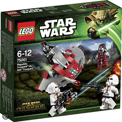 75001 Republic Troopers vs. Sith Troopers