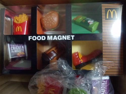 マクドナルド 限定マグネット