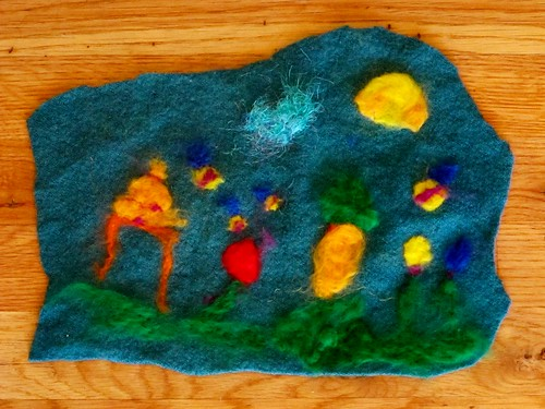 S's Needle Felted Entry