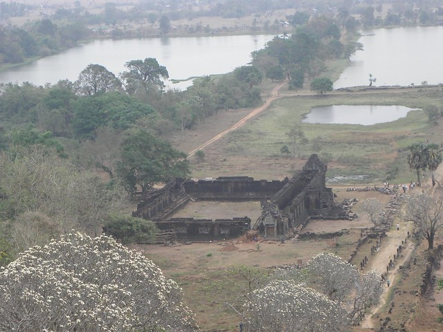 Part of the Wat Phu temple complex in southern Laos