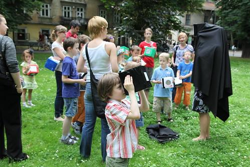 Warsztaty dla dzieci zKatarzyną Krakowiak wramach Małego Klubu Bunkra Sztuki