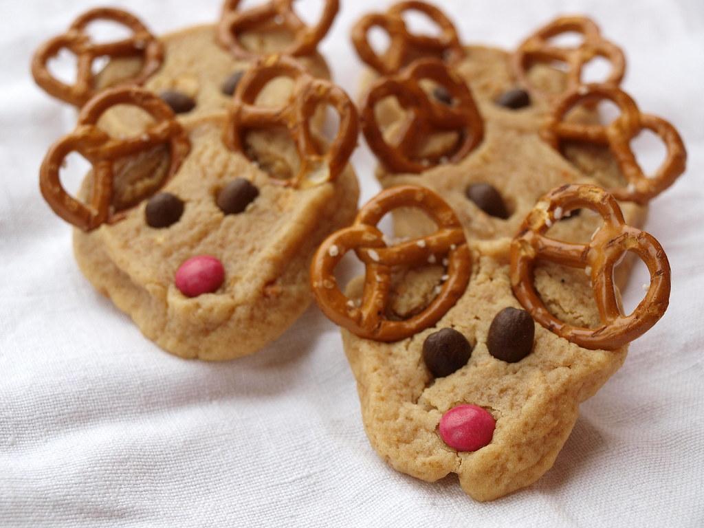 Rentier-Kekse - Reindeer Cookies