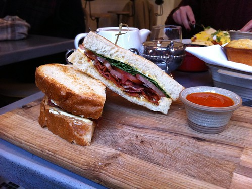BBT sandwich from Cucina