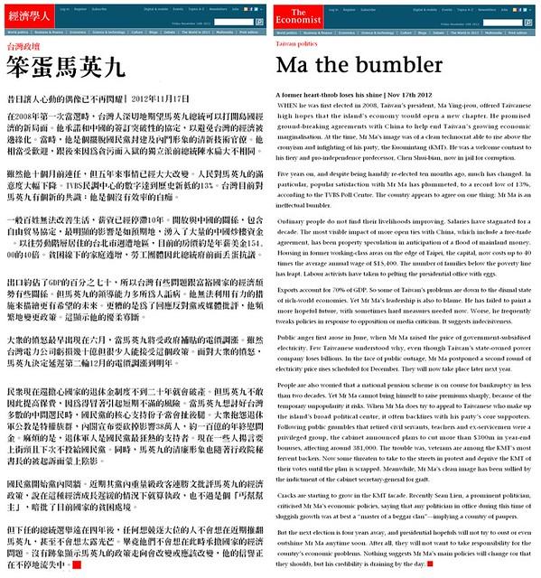 Ma the bumbler