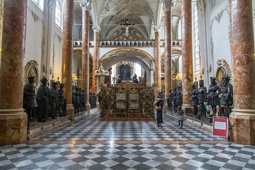 Schwarze Mannerl in der Hofkirche Innsbruck