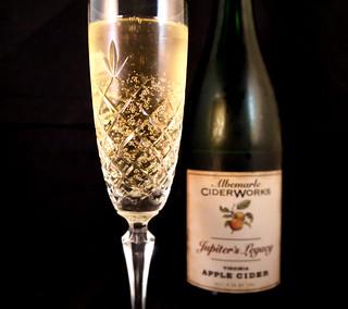 Jupiter's Legacy Cider Flute & Bottle (01)
