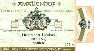 1983 - Heilbronner Stiftsberg (Württemberg)