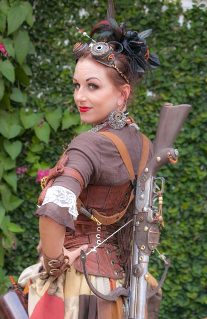 Steampunk goddess