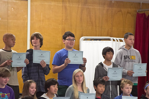 Honor Roll ceremony