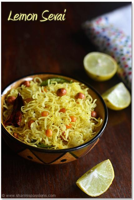 Lemon Sevai - Lemon Idiyappam Recipe