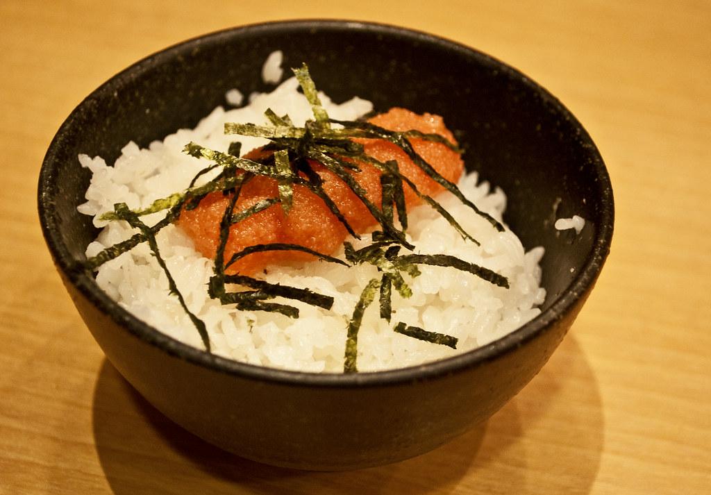 Hakata Eki Mentaiko Rice