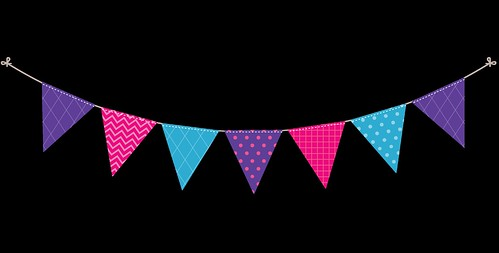 Bunting---Dots-and-Stripes---Rainbow---3