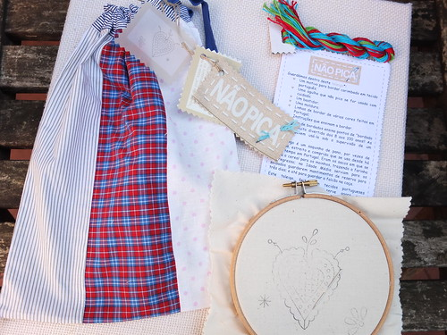 Viana's Heart Embroidery kit