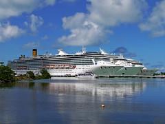 Three ships in St John